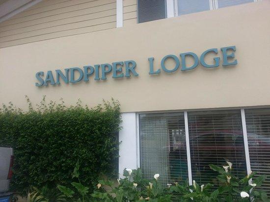 Sandpiper Lodge: Entrada
