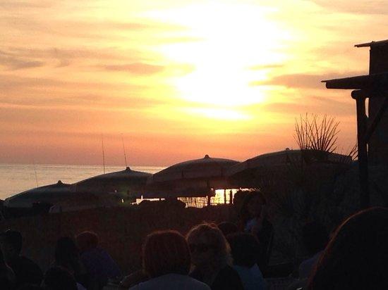 Sunset Cafe : Tramonto dal sunset