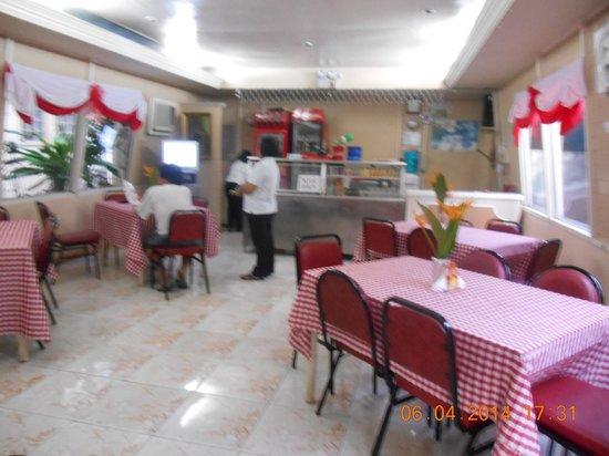 Paper Country Inn: The restaurant