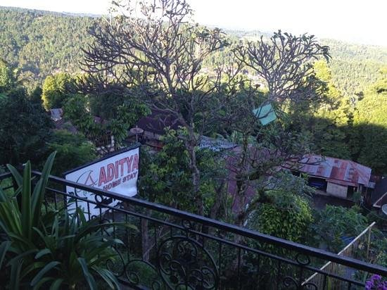 Aditya Homestay: view from Aditya