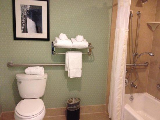 Hilton Garden Inn Washington DC/US Capitol: Il bagno