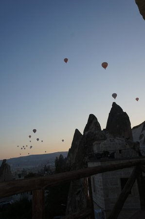 Cappadocia Cave Suites: View from Room 107