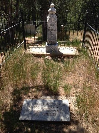 Doc Holliday's Grave: memorial to Doc Holliday