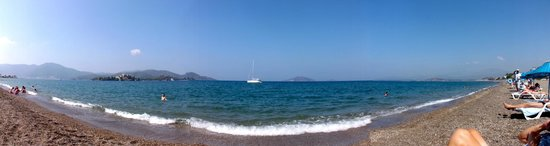 Sailing at Calis Beach