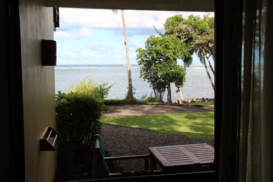 Shangri-La's Fijian Resort & Spa: View for our room