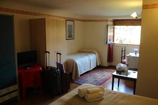 Hotel Fedora: Quarto do segundo andar (sótão)