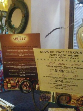 Hotel Salvator: Licores