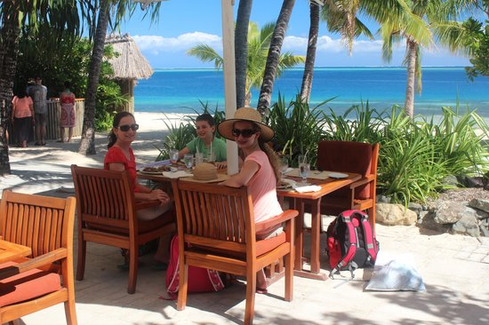 Castaway Island Fiji : lunch at 1808