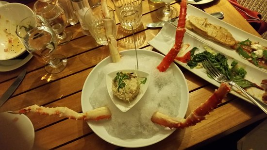 Holland House Beach Hotel: King Crab