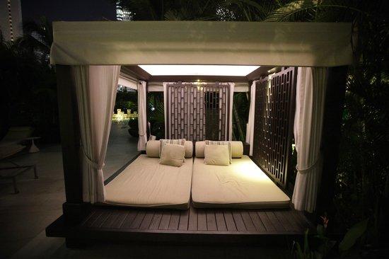 Mandarin Oriental, Singapore: Poolside cabana