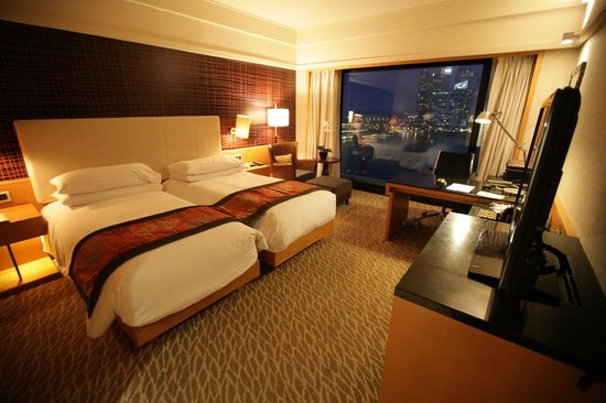 Mandarin Oriental, Singapore: Premier harbour view room