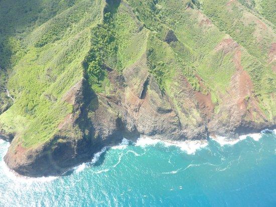 Island Helicopters Kauai: napali coast