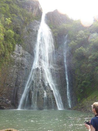 Island Helicopters Kauai: jurrasic falls!