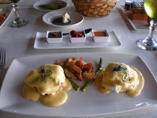 La Palapa Restaurant: Now that's breakfast!