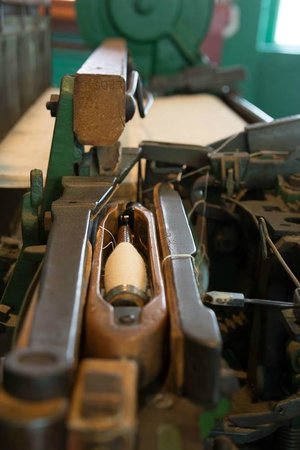 Lowell National Historical Park: Draper Loom (loom room foyer)