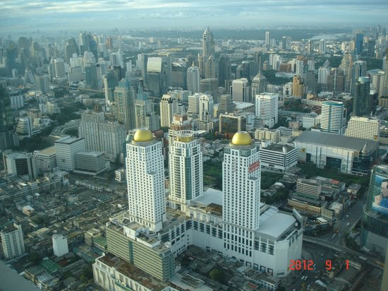 Baiyoke Sky Hotel: view from window