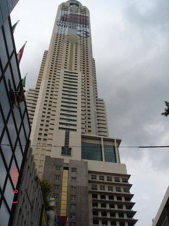 Baiyoke Sky Hotel: hotel view