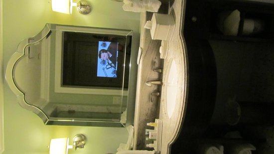 Disney's Grand Floridian Resort & Spa: Bathroom mirror TV