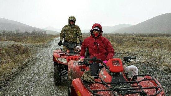 Heiny's ATV Adventures: A little rain....a little hail.....a little snow.....LOTS of fun!!!