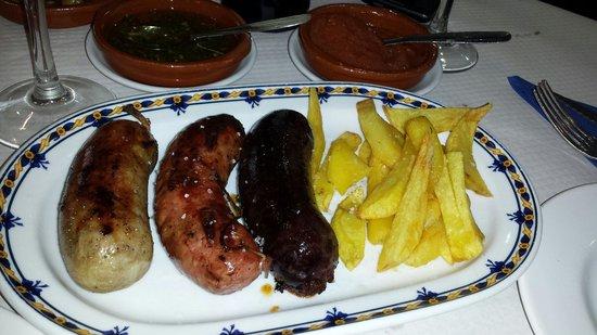 Restobar Montevideo: La morcilla criolla....exquisita!!!