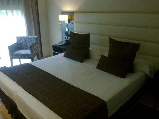Hotel Mirador de Chamartín: The bed ...