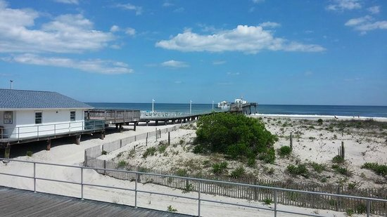 Ocean Front Motel: View from the Motel