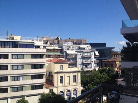 Hera Hotel: View from balcony