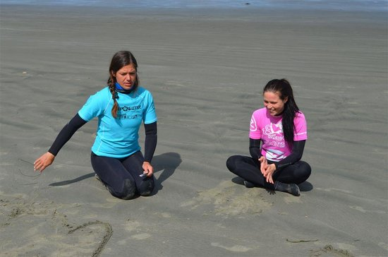 Surf Sister Surf School: Making Safety Fun