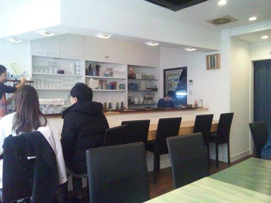 Kitchen Sakana: 店内