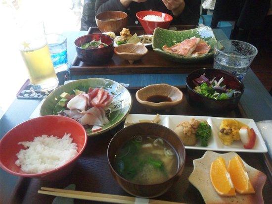 Kitchen Sakana: ある日のランチメニュー