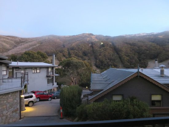 Snowgoose Apartments : View from our room
