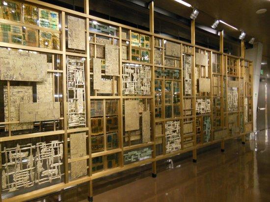 Seattle Public Library: 1st floor under escalator.
