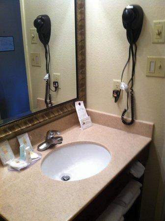 Comfort Inn & Suites at Dollywood Lane: New bathroom vanity
