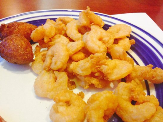 Courtney Bay Seafood: LARGE SHRIMP