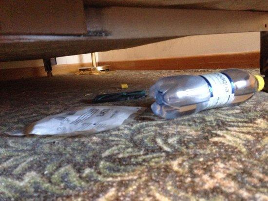 Orangeville Motel: Under the bed