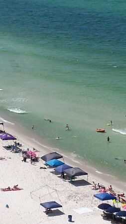 Wyndham Vacation Resorts Panama City Beach: View from our 14th floor balcony.