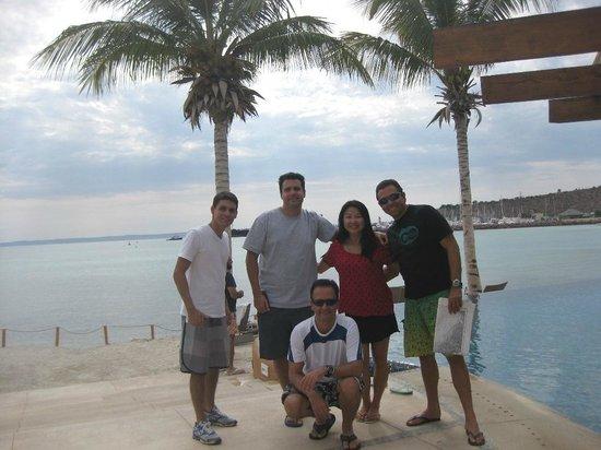 Costabaja Resort & Spa: Vista da piscina (Beach Club) para o mar.