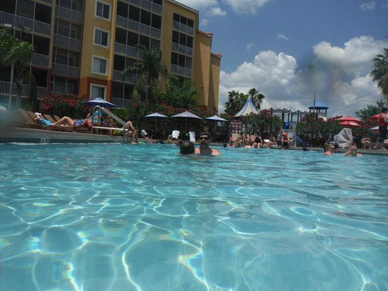 Westgate Vacation Villas Resort & Spa : Love the pools. They have 14