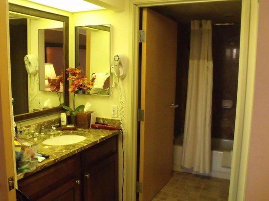 Gainey Suites Hotel : Bathroom area