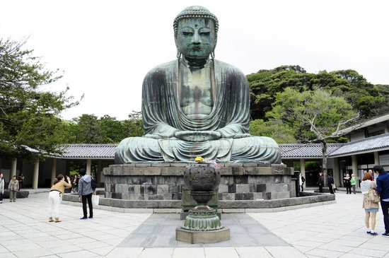 Kotoku-in (Great Buddha of Kamakura): O Brande Buda