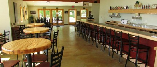 Brewery Terra Firma: Our taproom seats 60, and there's more room out on the patio.