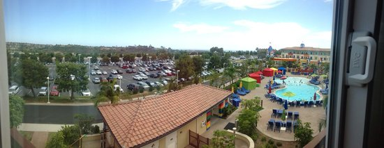 LEGOLAND California Hotel: Panoramic view from room 3038