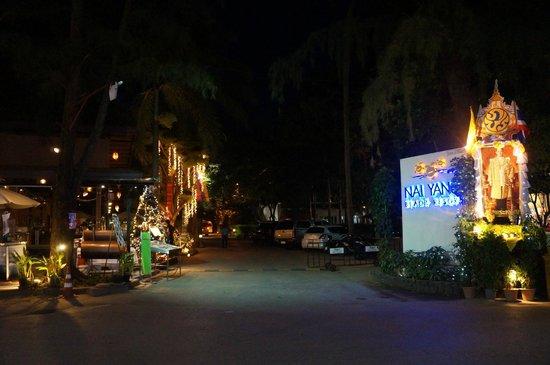 Nai Yang Beach Resort and Spa: Entrance to resort