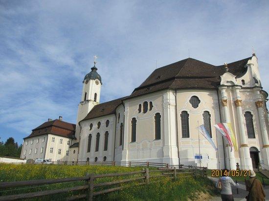 Wieskirche: 教会外観