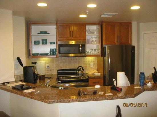 Marriott's Shadow Ridge I-The Villages : kitchen