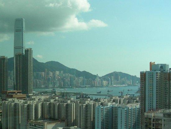 Cordis, Hong Kong at Langham Place: Vue de la chambre au 35eme