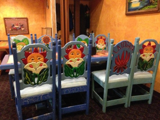 Carlito's Mexican Restauran: clean seating areas