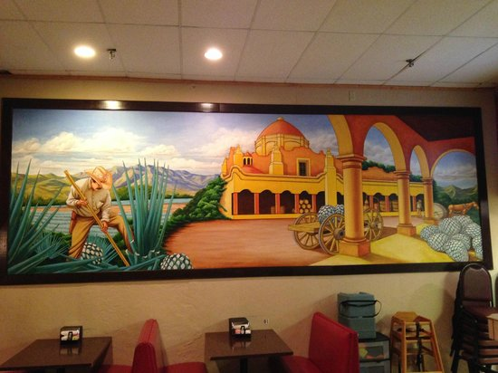 Carlito's Mexican Restauran: wall painting