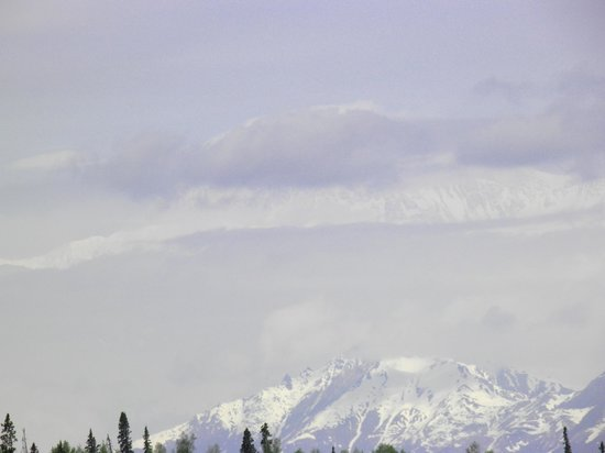 Mt. McKinley Princess Wilderness Lodge : Mckinly in the clouds