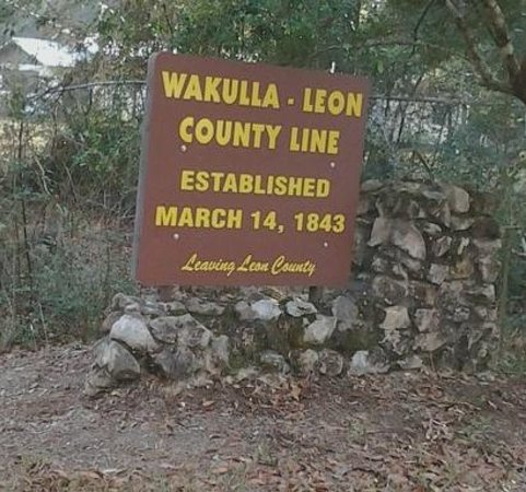 Tallahassee-St. Marks Historic Railroad State Trail: County Line Leon/Wakulla